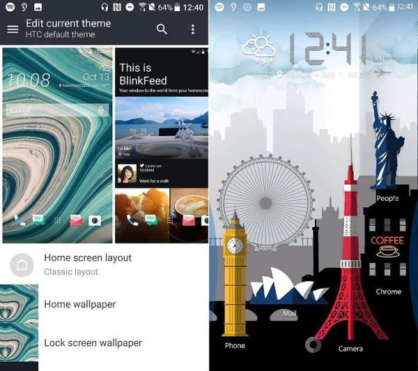 تنظیمات گوشی HTC U11