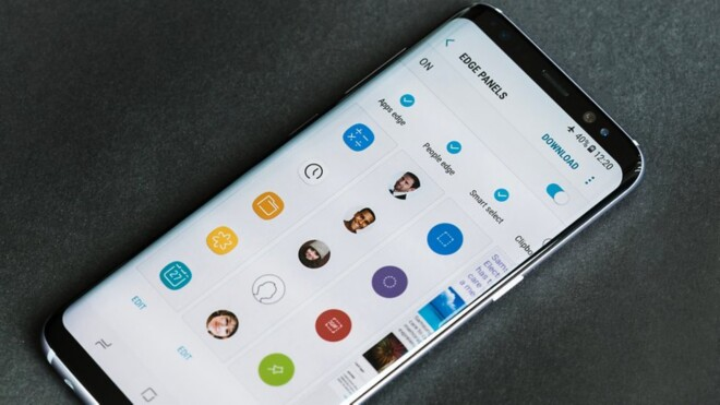 تنظیمات گوشی گلکسی اس 8