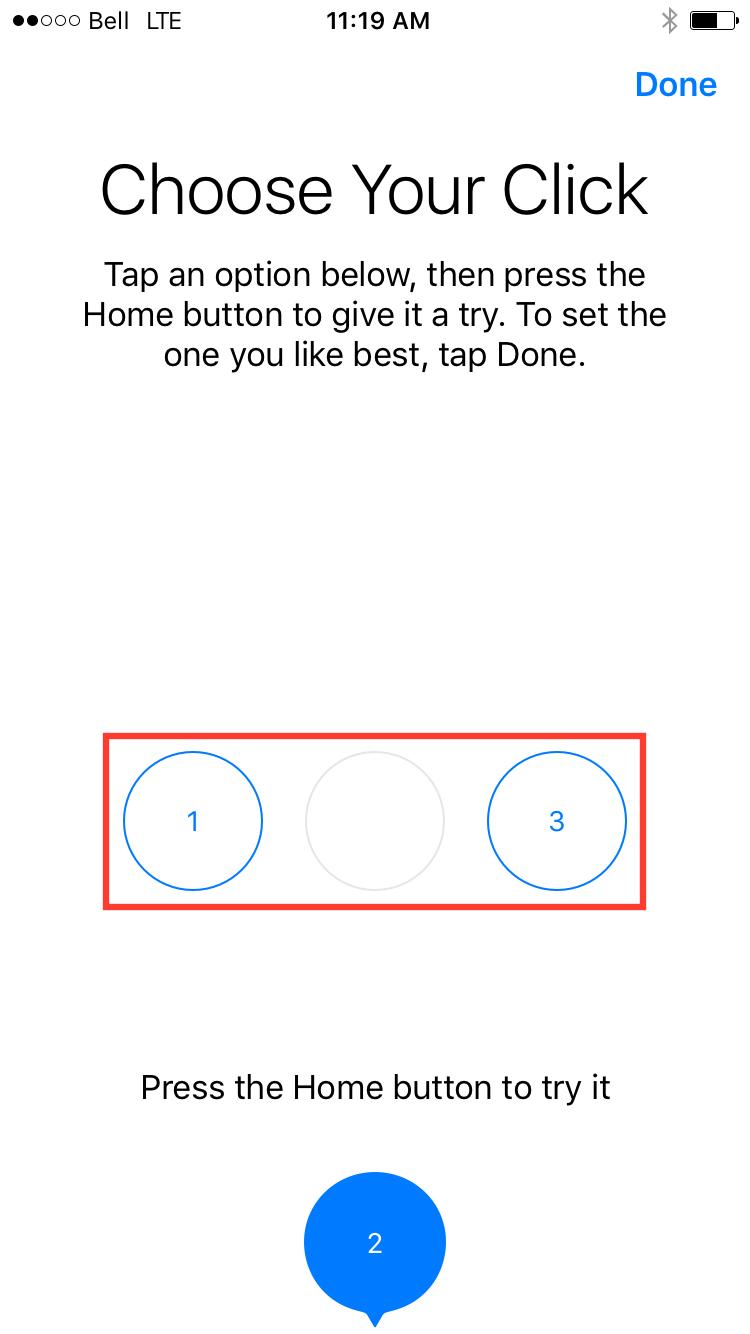 روش تنظیم کردن دکمه هوم در آیفون 7