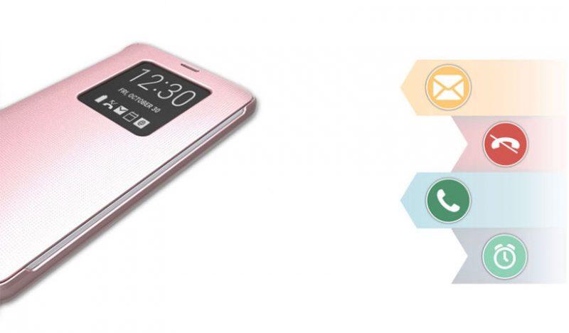لوازم جانبی موبایل - کیف اصلی ال جی Window Quick Cover LG G6
