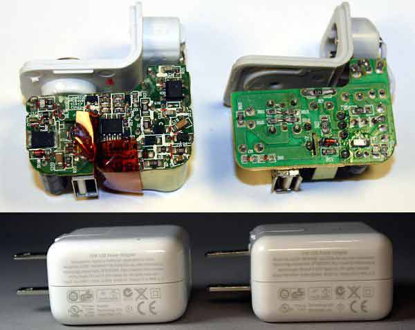 تفاوت آداپتور شارژر اصلی و کپی