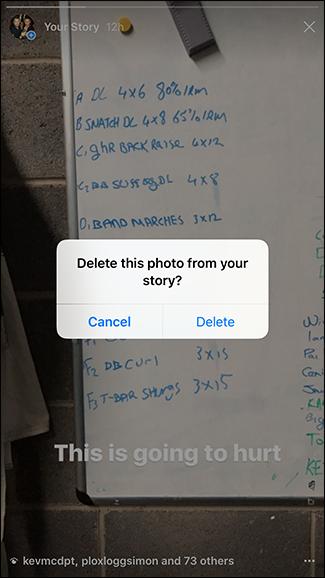 روش حذف استوری اینستاگرام