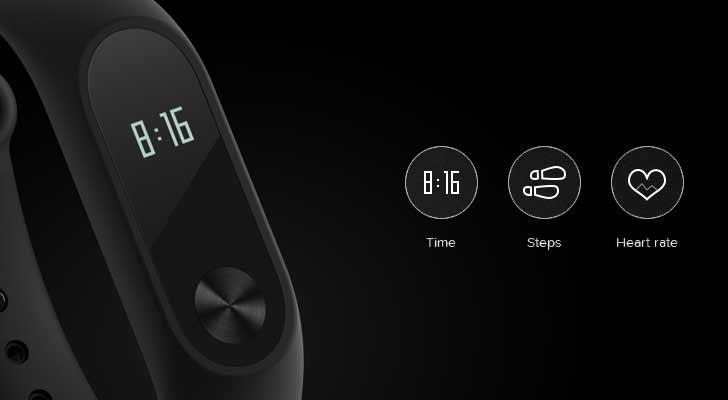 دستبند می بند شیائومی Xiaomi Mi Band 2