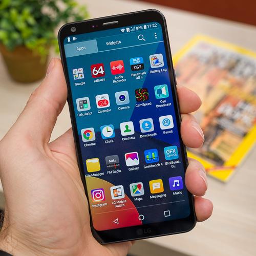 بررسی مشخصات گوشی موبایل LG Q6